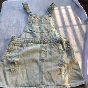 Forever 21 overall Jean dress